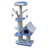 Cat Life Cat-Life Deluxe Cat Cottage w/Lounging Tower from Penn-Plax