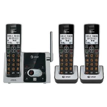At & T AT & T(tm) DECT 6.0 3-Handset Phone System w/ Digital Answerer