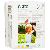 Naty by Nature Babycare Nature Babycare Eco-Friendly Baby Diapers Case - Size 6 (78 Count)