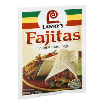 Lawry's Fajitas Spices & Seasonings