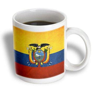 Recaro North 3dRose - Flags - Ecuador Flag - 11 oz mug
