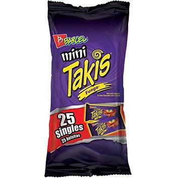 Barcel Mini Takis Fuego 125 Bags (1.2 Oz Each)