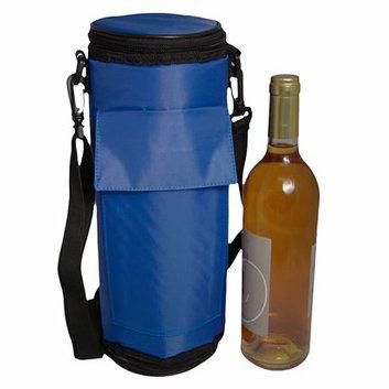 Maranda Enterprises FlexiFreeze Wine Bottle Beverage Cooler - Blue