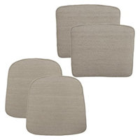 Outdoor Patio Cushion Set: Threshold 4 Piece Tan for, Loft Collection