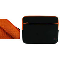 rooCASE Super Bubble Neoprene (Orange / Black) Sleeve Case for Apple MacBook Pro MB990LL/A 13.3-Inch Laptop