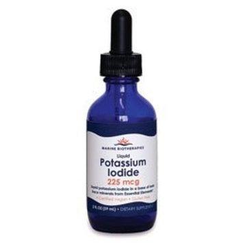 Marine Biotherapies Liquid Potassium Iodide, 225 mcg, 2-Ounce