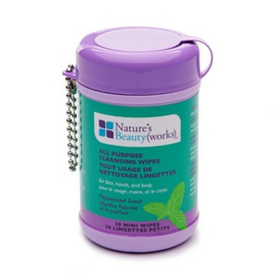 Nature's Beauty(works) All Purpose Mini Cleansing Wipes