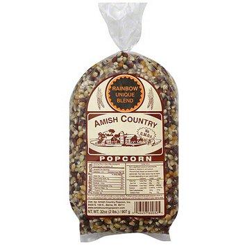 Amish Country Popcorn Unique Rainbow Blend Popcorn