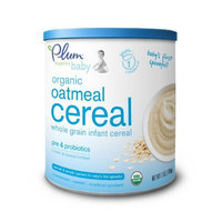 Plum Organics Baby Oatmeal Cereal, 7-Ounce (Pack of 6)