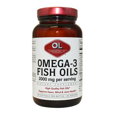 Olympian Labs Omega 3 Fish Oils Softgels