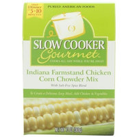 Slow Cooker Gourmet Indiana Farmstand Chicken Corn Chowder Mix, 13-Ounce Boxes (Pack of 6)