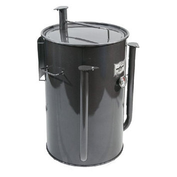 Adventure Marketing Group Inc Gateway 55 Gallon Drum Charcoal Smoker Charcoal