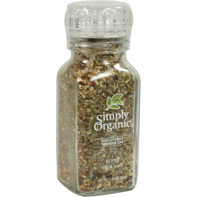 Simply Organic Certified Organic Grind to a Salt