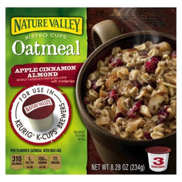 Nature Valley Bistro Cups Apple Cinnamon Almond Oatmeal 8.28 oz