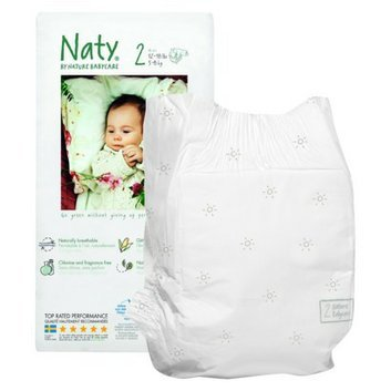 Nature Babycare Eco-Friendly Baby Diapers Case Size 6 (54 Count)