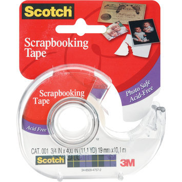 3m 3M 001-3M 0.75 x 400 Scotch Scrapbooking Tape
