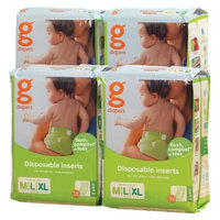 gDiapers Disposable Inserts - Size med/large (128 count)