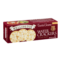 Wellington Water Crackers Toasted Sesame