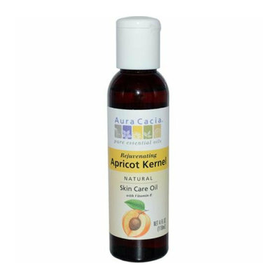 Aura Cacia Natural Skin Care Oil Apricot Kernel 4 fl oz
