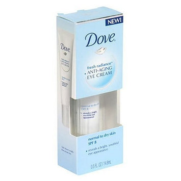 Dove Fresh Radiance Anti-Aging Eye Cream,SPF Normal/Dry