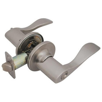 Hardware House 13-9762 CP 15 Princeton Entry Levers Satin Nickel