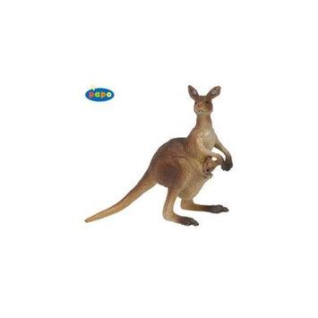 Papo 50023 Kangaroo with Cub Toy Animal Figure