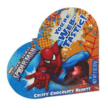 Marvel Spider-Man Crispy Chocolaty Hearts