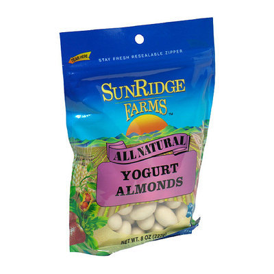 SunRidge Farms All Natural Yogurt Almonds