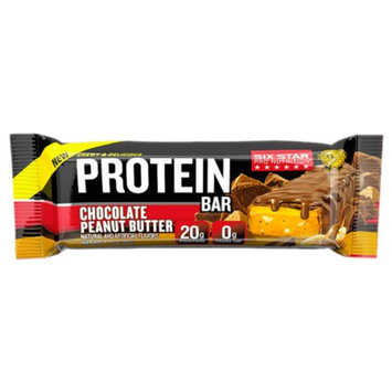 Six Star Chewy & Delicious Protein Bar, Chocolate Peanut Butter, 9 ea