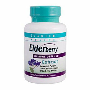 Quantum Research Quantum Elderberry Immune Defense Extract 400 mg 60 Capsules