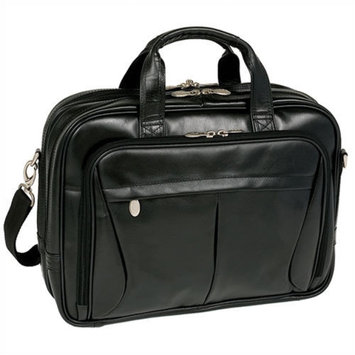 McKlein USA R Series Pearson Leather Laptop Briefcase