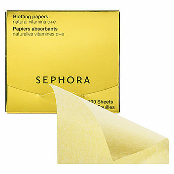 SEPHORA COLLECTION Blotting Papers Natural Vitamins C+E 50 Sheets