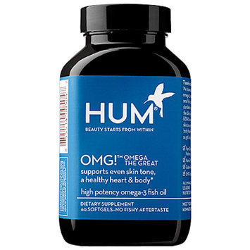 Hum Nutrition OMG!(TM) Omega The Great 60 Softgels
