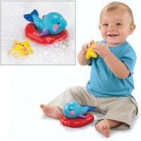 Fisher-Price Amazing Animals Tubtime Friends: Dolphin and Starfish