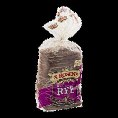 S. Rosen's Restaurant Style Rye Bread Black Bavarian