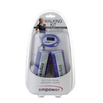 empower Walking Kit w/ Pedometer, Blue, 1 ea