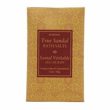 Maroma Bath Salts, True Sandal, 2 oz