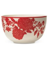 Martha Stewart Collection Orleans Red Cereal Bowl