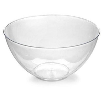 Fineline Settings 3503-BK Platter Pleasers 60 oz Black Bowl