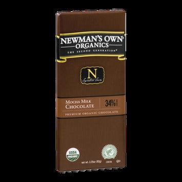 Newman's Own Organics The Second Generation Mocha Milk Chocolate