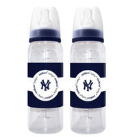 MLB - Baby Fanatic - 2 Pack Baby Bottle, New York Yankees