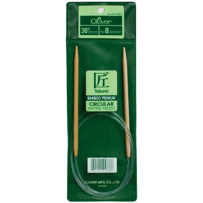 Clover Bamboo Circular Knitting Needles 36