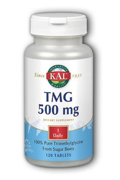 Kal - TMG Trimethylglycine 500 mg. - 120 Tablets