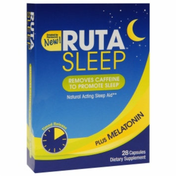 RUTA SLEEP Natural Acting Sleep Aid, Capsules, 28 ea