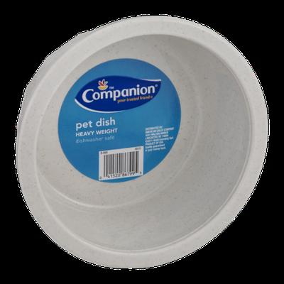 Companion Pet Dish Heavy Weight
