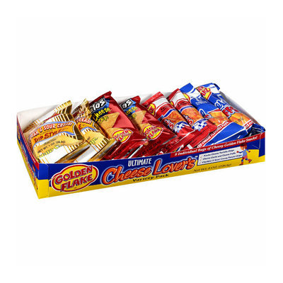 Golden Flake Ultimate Cheese Lover's Variety Pack