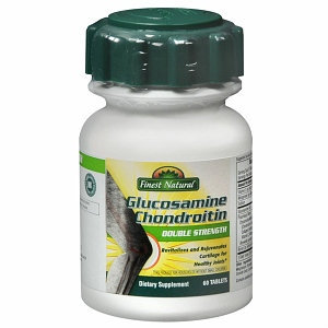 Finest Double Strength Glucosamine Chondroitin Tablets