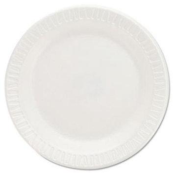 Dart DCC6PWQ Foam Plastic Plates, 6