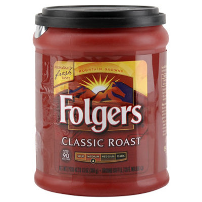 Folgers Classic Ground Coffee - Medium Roast