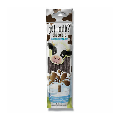Got Milk? Chocolate Magic Milk Flavoring Straws